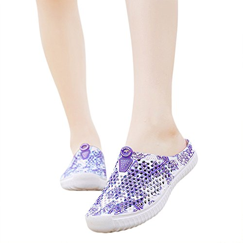 Shoes Sandals Water Footwear Beach Purple Womens Breathable Slippers Walking Allywit HBqngfwn