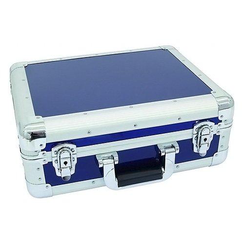 Roadinger 3012205C Aluminium Digital-Booking abgerundet CD-Hülle blau