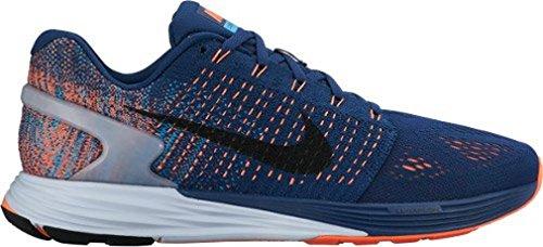 da 7 Blu Nike Uomo Brave Scarpe Lunarglide Black Lagoon blue Nero azzurro Ginnastica Arancione Blue qgqStx