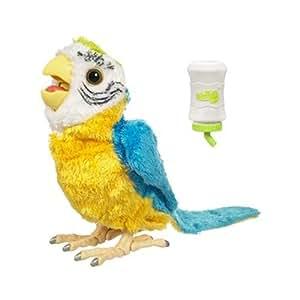 Fur Real Friends Recien nacidos (V) Pájaro - Mascota de peluche bebé con sonido y movimiento (Hasbro)