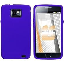 Samsung Galaxy S 2 / Samsung I9100 Galaxy S II Gel Skin Case - Blue
