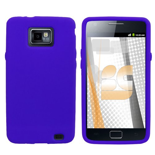 Samsung Galaxy S 2 / Samsung I9100 Galaxy S II Gel Skin Case - Blue