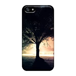 Faddish Phone Tree In Mist Case For Iphone 5/5s / Perfect Case Cover