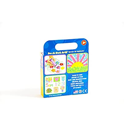 Do A Dot Art Rainbow 4 Pack Washable Dot Markers, The Original Dot Marker: Toys & Games