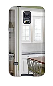 Carmnderson TwjjmEA7428bxzln Protective Case For Galaxy S5(family Friendly Kitchen With White Cabinets)