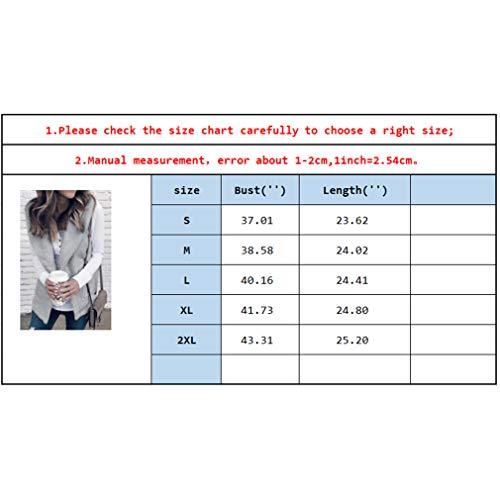 pour veste poche Vestes unie femmes garder couleur grise revers avec chaud manteau awXv4vdq7