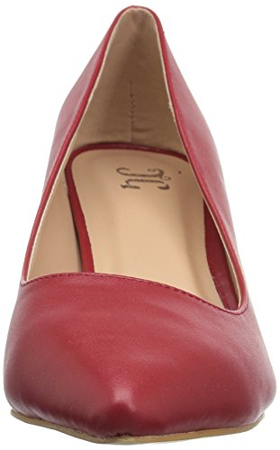 Brinley Co Womens Nina Pump Red/Red S1pTiCz9