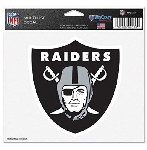 (Wincraft Oakland Raiders 3x4 Multi-Use Decal)