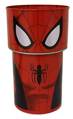 Spider Man Bank - The Tin Box Company Marvel Spider-Man Bobble Head Bank