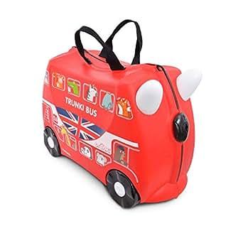 Trunki Boris The London Bus Ride On Suitcase