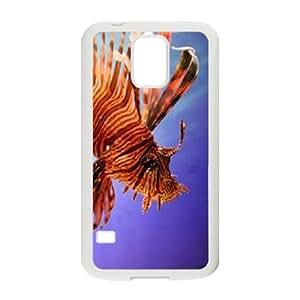 Popular Case for SamSung Galaxy S5 I9600 - Beautiful fish ( WKK-R-93974 )