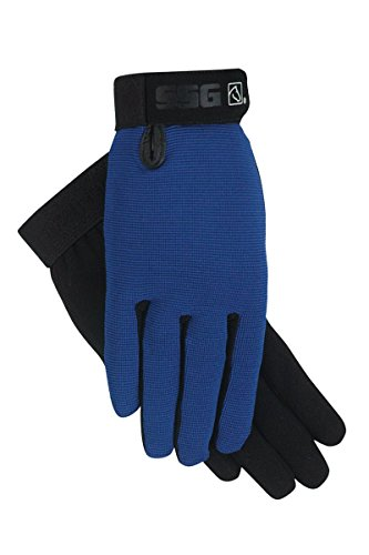 All Weather Leopard Gloves (SSG ALL WEATHER GLOVES ♦ DURABLE BREATHABLE WASHABLE MOST POPULAR ♦ ALL SIZES AND COLORS (Royal Blue, Mens 8/9))