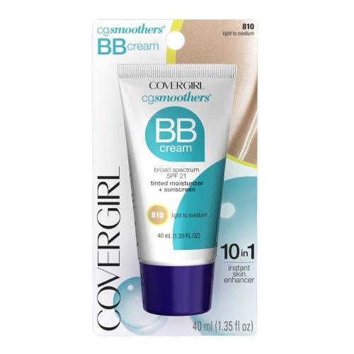 CoverGirl Smoothers Lightweight BB Cream Light to Medium, 1.