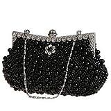 FLOW ZIG Wedding Beaded Evening Handbag