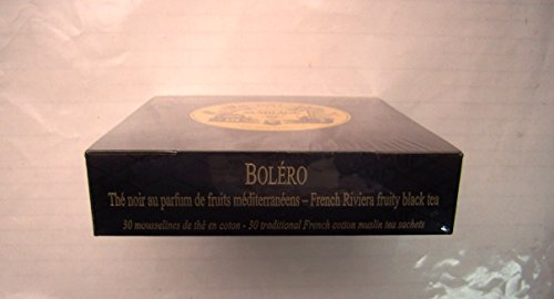 mariage frres bolro box of 30 traditional french muslin tea sachets - Mariage Freres Nancy