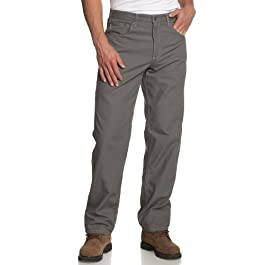 Men's Loose Fit Five Pocket Canvas Carpenter Pant