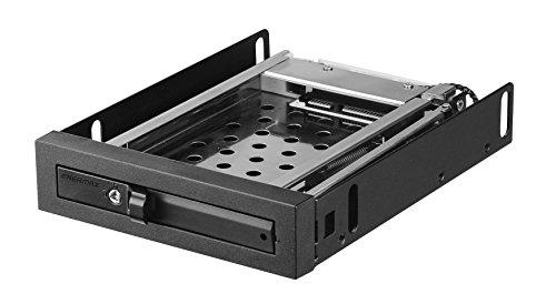 Enermax 3.5 Inch Drive Bay for single 2.5 Inch SATA/SAS HDD Mobile Rack,  -