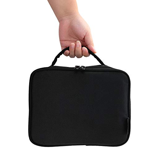 Pedkit Cosmetic Bag Lightweight Travel Makeup Bag Portable Makeup Bag Storage Bag with Padded Handle for Traveling and Business Trip