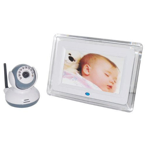 "Walsoon 7"" LCD Screen 2.4G Digital Video wireless Voice Cont"