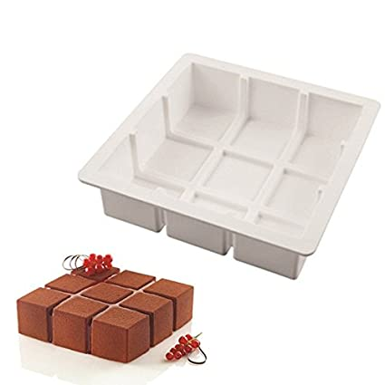 Buy Creativities International Cubic Entremet Silicone Cake Mould