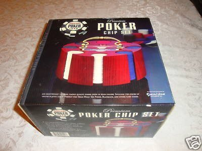 World Series Of Poker Premium Poker Chip Set