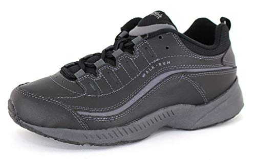 - Easy Spirit Women's Romy Black Leather Athletics 10 C/D US