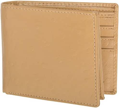 Access Denied Men's RFID Leather Wallet Stops Electronic Pick Pocketing