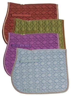 Quilt Saddle Pad (Ecole Flower Diamond Quilt AP Pad [Misc.])