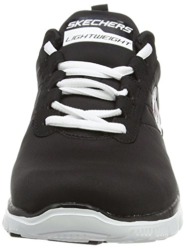 Appeal Skechers Femme Basses Flex Generation Baskets bkw Next Noir Cwaqgp