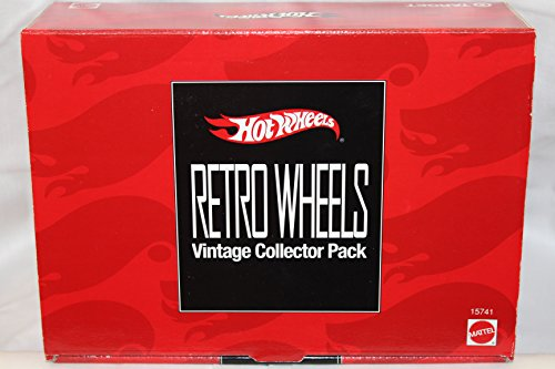 Hot Wheels Retro Wheels Vintage Collector Pack