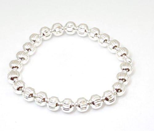 Bracelet de Perles en Argent Fin 925 par La Olivia Collection