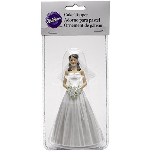 Cake Topper 5.25-Bride - Caucasian -