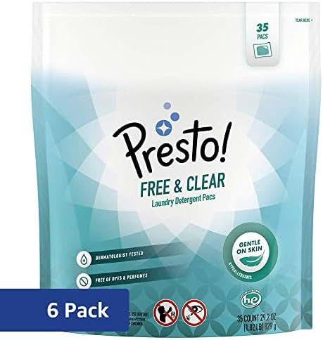 Laundry Detergent: Presto! Free & Clear