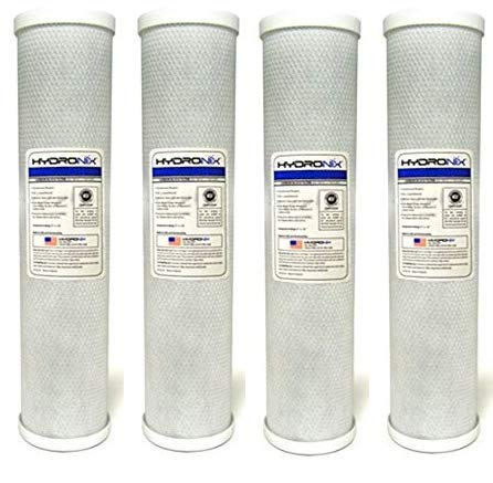 "Hydronix CB-45-2010 NSF Carbon Block Filter 4.5"" OD X 20"" Le"