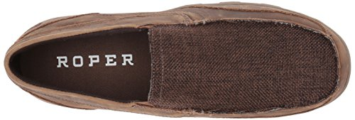 Roper Mens Charlie Driving Style Mocassino Marrone