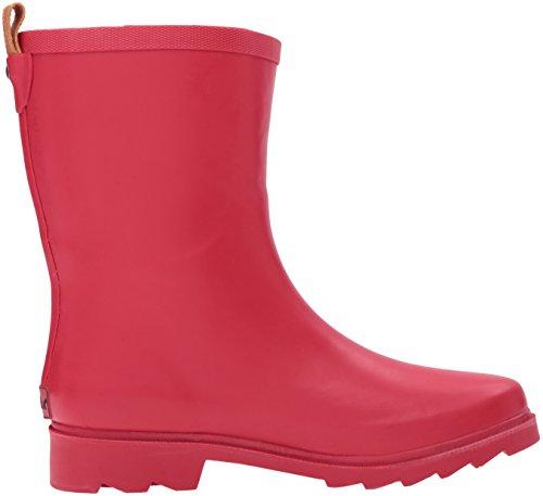 Chooka Frauen halbhoher Regenstiefel rot