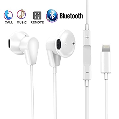 Lightning to 3.5mm Headphone Jack Adapter,Onlier iPhone 7 Lightning Audio and Charge Adapter Splitter for iPhone 7/7 Plus / 8/8 Plus/X (Support iOS 10.3 and Later)