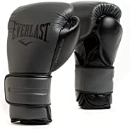 Everlast Powerlock2 Pro Hook & Loop Leather Boxing Training Gl