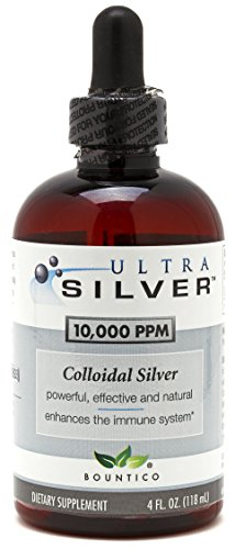 Ultra Silver Colloidal Silver 10000 PPM - 4 Oz