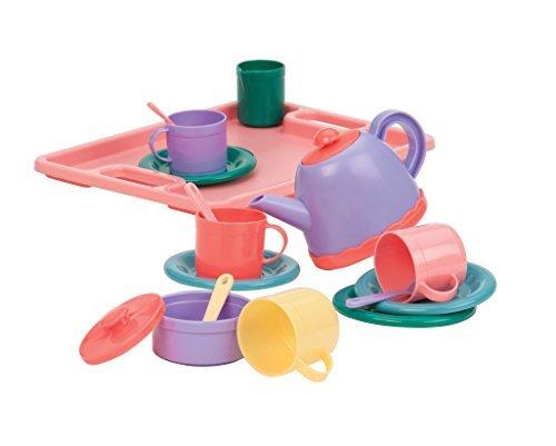 Battat BT2429Z Tea Party for Four Playset (Tea Set With Sound)