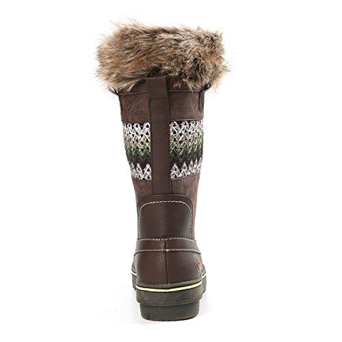 Bishop Nordic Northside B US 6 Green Tan Boot Snow Women's Brown 5A5rqFX