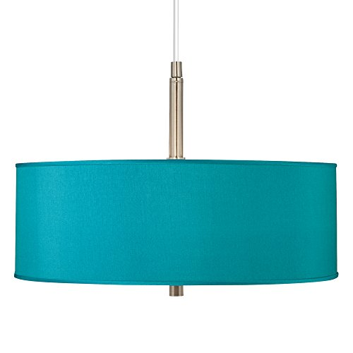 Teal Blue Pendant Light in US - 6