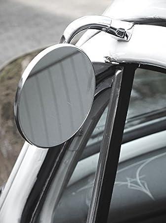 Universeller Außenspiegel Edelstahl 1 Stück Passend Für Fahrer Und Beifahrerseite Auto