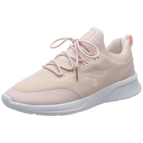 chollos oferta descuentos barato KangaROOS Kf a Glide Zapatillas Mujer Rojo Dusty Rose 6058 38 EU