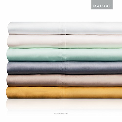 WOVEN TENCEL Sheet Set - Silky Soft, Refreshing and Eco-Friendly - Queen Sheets - Ivory - 4pc