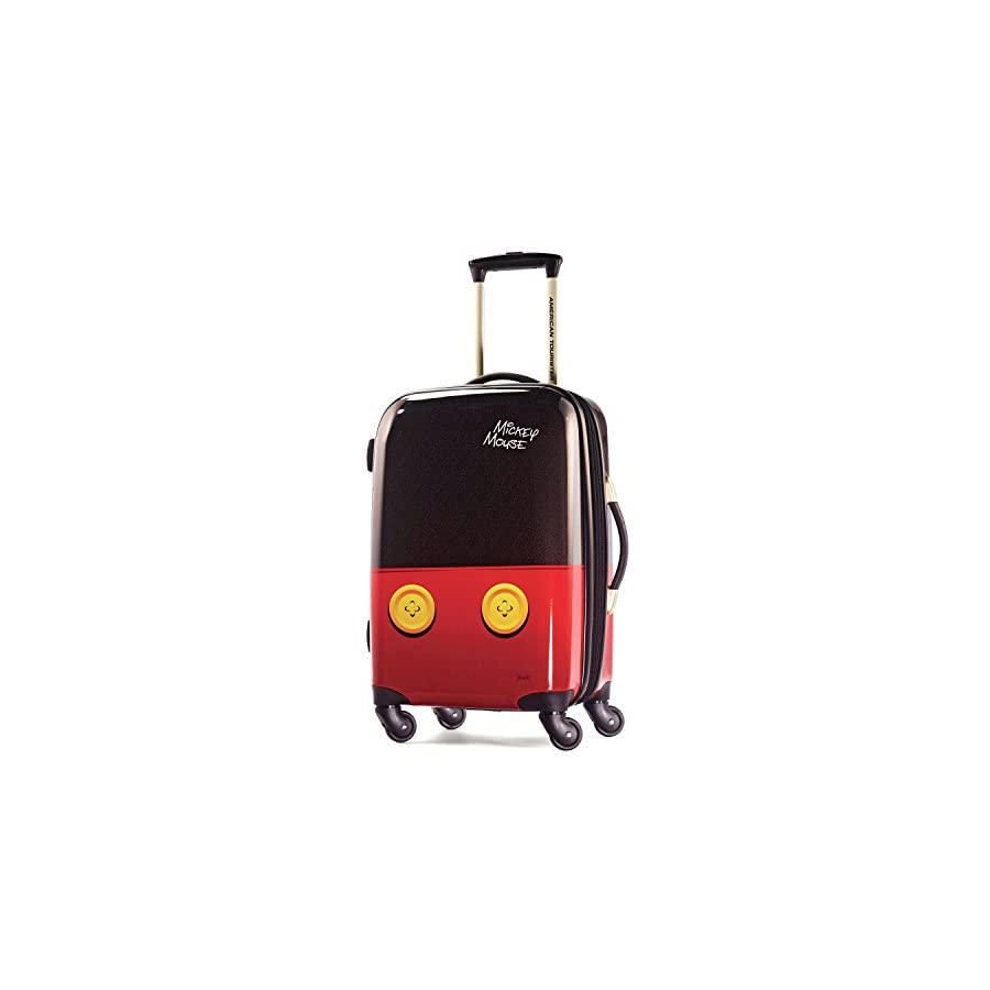 American Tourister Disney Mickey Mouse Pants Hardside Spinner 21, Multi