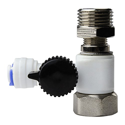 sion Adapter Included, Fits Both 1/2 inch Npt & 3/8 inch Comp Cold Water Supply Valve (Feed Valve)