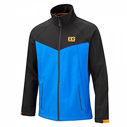 Craghoppers Men's Bear Grylls Core Softshell Jacket, Extra Blue/Black, Small