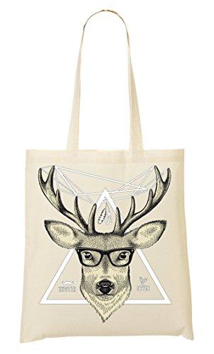 De Compra Deer Style Hipster La school Bolso To Old De Collection Head Mano Nice Bolsa 17xxHq6w