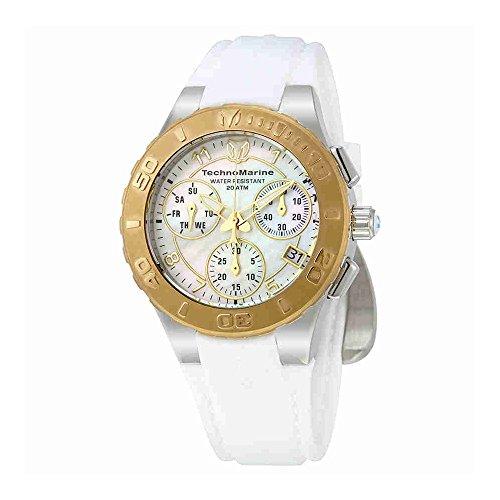 technomarine-cruise-medusa-chronograph-white-dial-ladies-watch-115089